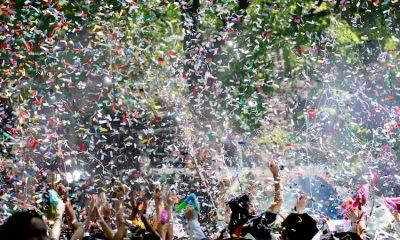 Célébration de victoire