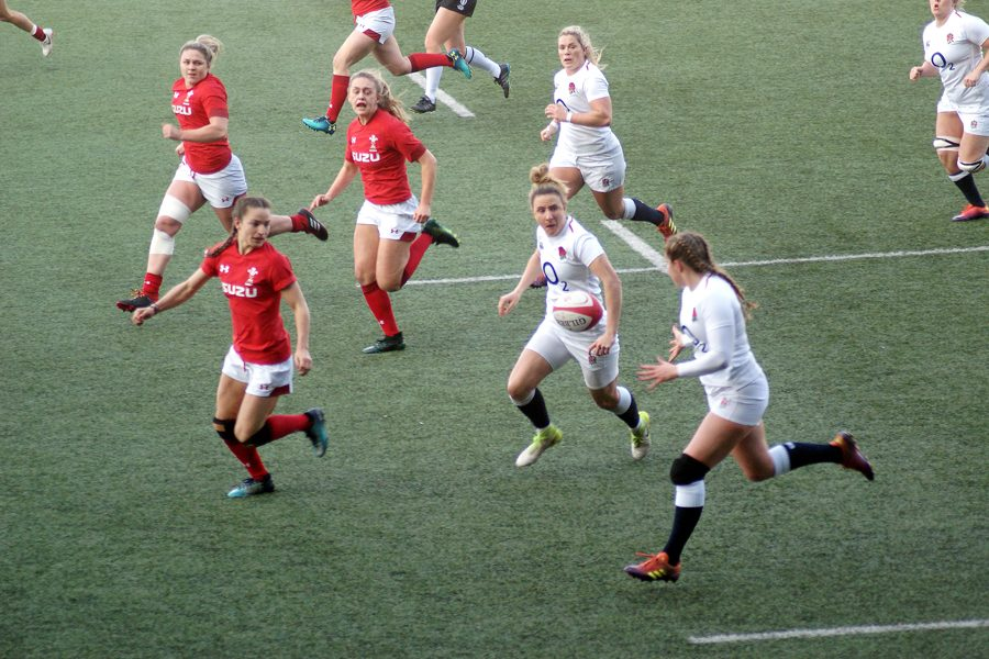Pays de Galles - Angleterre lors du tournoi des 6 nations 2019