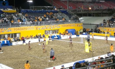 Beach Volley Jeux panaméricains 2015, Toronto, Canada