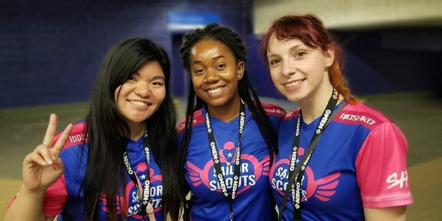 Les sailors scouts à DreamHack Montréal 2019