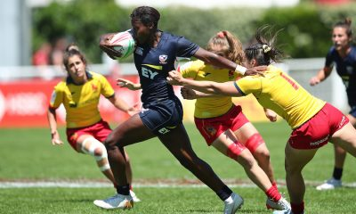 HSBC World Rugby Women's Sevens Series au Stade Aguilera à Biarritz le 16 juin 2019