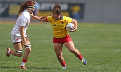 Rugby 7 - Espagne - Jour 1 du HSBC World Rugby Women's Sevens Series 2019 à Glendale le 20 Octobre, 2018.