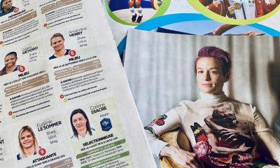 Megan Rapinoe, Eugénie Le Sommer, Amandine Henry, Grace Geyoro, footballeuses
