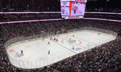 Dernier match de série de la rivalité entre les États-Unis et le Canada à Anaheim, Californie