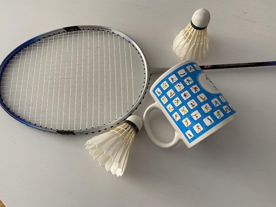 Le badminton challenge maison