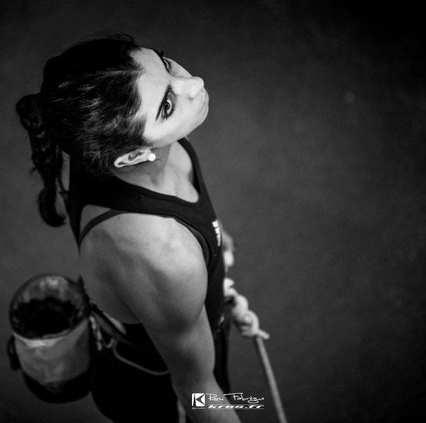 Pas de JO de Tokyo pour la grimpeuse Fanny Gibert