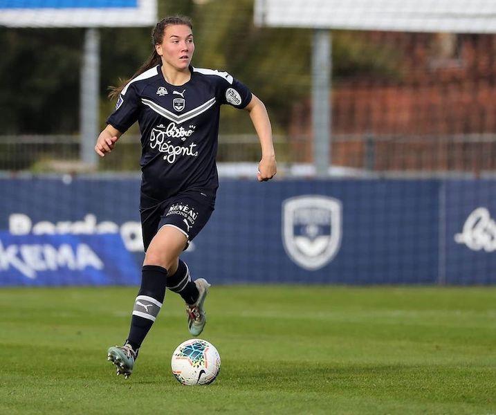 Vanessa Gilles, joueuse des Girondins de Bordeaux et de l'équipe du Canada