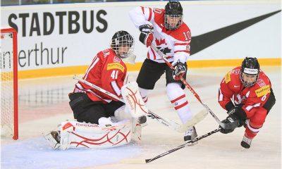 Championnat du monde IIHF 2011. Phase préliminaire Match de Groupe B. Canada - Suisse: 12-0