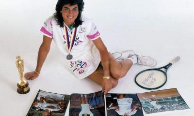 Gabriela Sabatini, championne argentine de tennis
