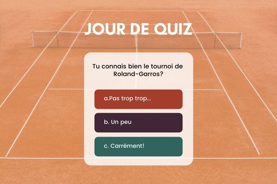 Roland-Garros 2021 - Quiz