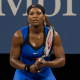 Serena Williams lors de l'US Open 2011