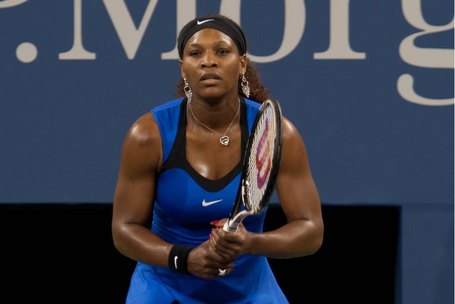 Serena Williams lors de l'US Open 2011