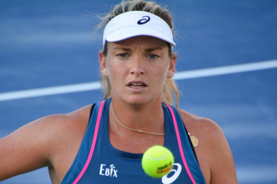 Coco Vandeweghe jouait pour le NY Empire au World TennisTeam