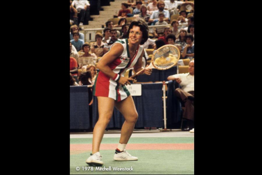Billie Jean King en 1978