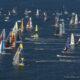 Flotte au départ du Vendée Globe, aux Sables d'Olonne le 6 Novembre 2016
