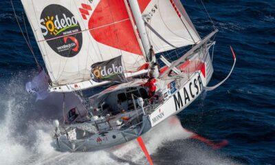 Isabelle Joschke, skipper de l'IMOCA MACSF pour le Vendée Globe 2020,