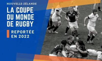 Report de la Coupe du Monde de rugby