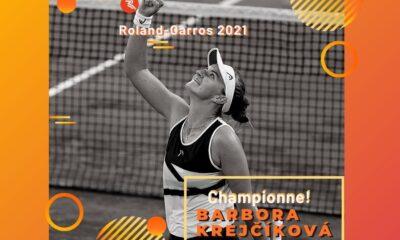 Barbora Krejčíková remporte Roland-Garros 2021